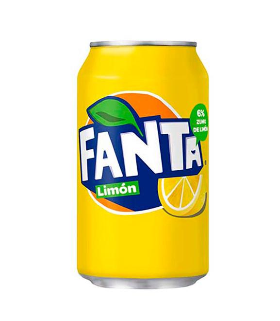 lata de fanta limon