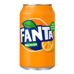 lata de fanta naranja