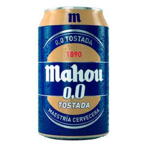 cerveza Mahou 0,0 lata