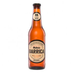 cerveza Mahou Barrica