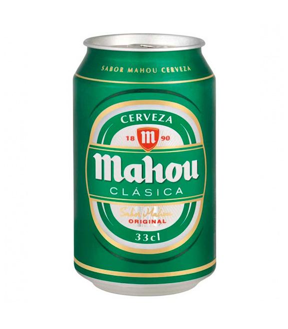 lata cerveza Mahou clasica