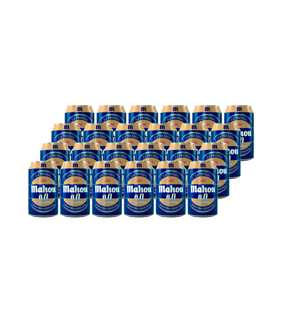 pack 24 latas mahou 0,0